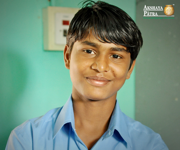 """My parents only studied till class ten. They are labourers and have been in that profession all their lives. Even with financial constraints, both my parents always encouraged me to study hard so that I don't face the hardships that they faced in their lives."" - Basava, Bengaluru"