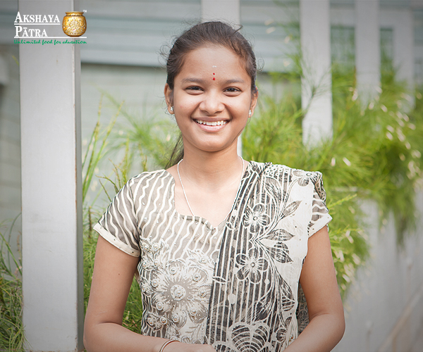"""We had special classes in the mornings in the last few months, since it was early, we would reach school without eating breakfasts. Those few months, we would wait for the mid-day meal with greater enthusiasm."" - Ramya, Bengaluru"