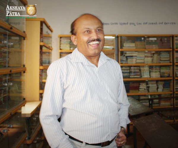 """""""Hunger and poverty is not new to me. I was driven by the will to succeed and secured the fourth rank in the state in the TCH examinations.  I taught at the school in the morning and attended the evening college to pursue my Bachelor's and Master's degree. At present I am working on my doctoral thesis on adolescence."""" - G Ranganath, Head Master, Bengaluru"""