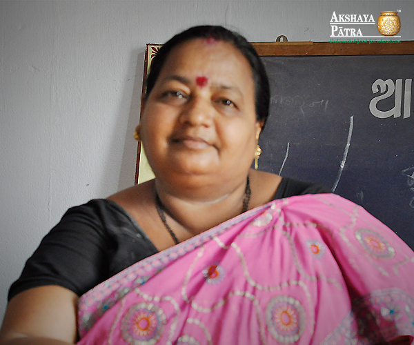 """I am grateful that the Mid-Day Meal Programme by Akshaya Patra came as an incentive to education which actually offers two of the fundamental rights of food and education to the children. The children get to live their childhood as they are supposed to."" - Bharathi Mahapatra, Headmistress, Odisha"