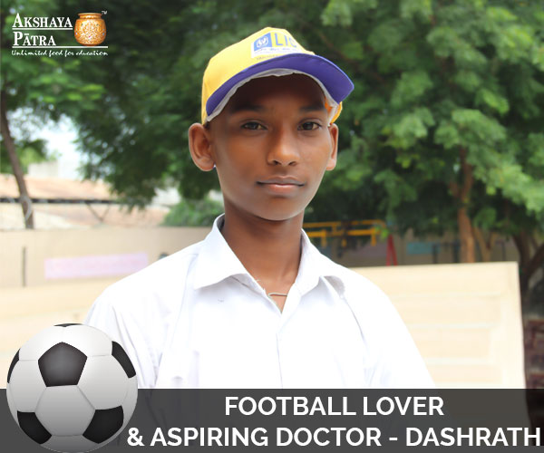 """I study in Std VII in Vadodara and want to become a doctor and serve people. My favourite subjects are English, Social Studies, and Mathematics and my favourite sport is football. I also enjoy playing kabaddi and cricket."" – Dashrath Chauhan, Vadodara, Gujarat"