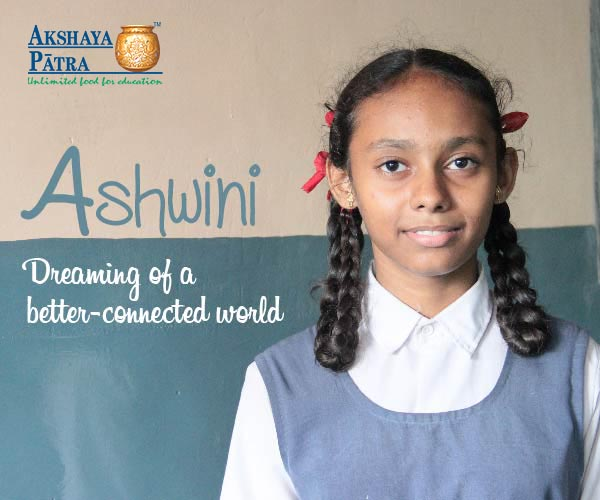 """I study in Std VIII in Surat and want to be a computer engineer. I like dancing and participating in essay-writing competitions. My favourite subject is Mathematics."" – Ashwini, Gujarat"