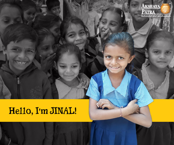 """Hello, I am a student of Standard III in Ambaypura Primary School, Pratapura. I want to be a teacher when I grow up. I love dal and rice. It is tasty!"" – Jinal, Pratapura, Gujarat."