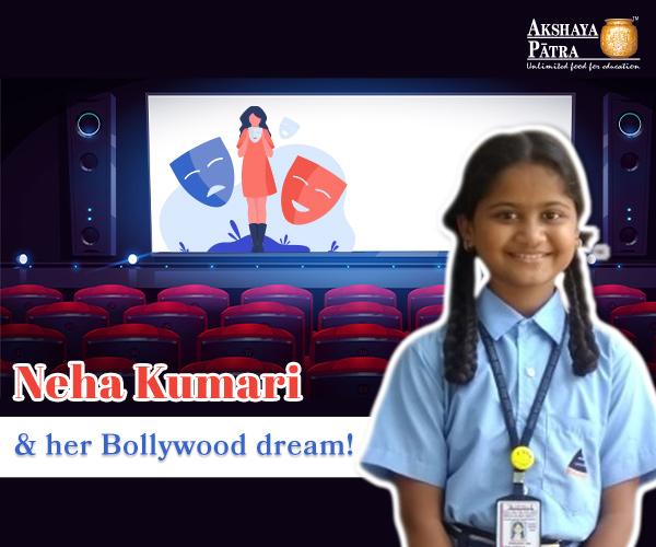 11-year-old Neha Kumari Rana born to a Nepali couple wants to make it big in the Bollywood industry. Her parents, father working as a Security in charge and mother working as a domestic help have never stopped her from dreaming big. She is inspired by Bollywood actress Kajol and loves her eyes and facial features. However, she does not side-line the importance of education in her life because education is the stepping stone to success.