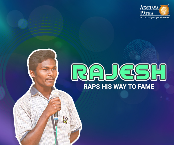 Rajesh studying in Chandrabaghabai Education Society, Nagpur wants to become a popular rap artist. He wants to write his lyrics, create his music and rap to his heart's content. Even at school, he is always scribbling some words at the back of his notebooks and hums along to create the perfect pitch for his rap. He is aware of the struggles he will have to face to get a name in the music industry but is determined.